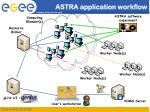 astra application workflow