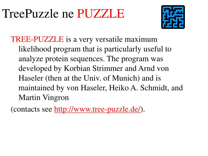 TreePuzzle ne