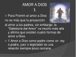amor a dios 1
