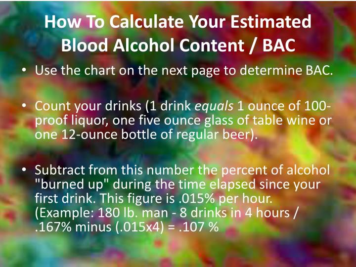 How To Calculate Your Estimated