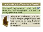 latar belakang g20 the group of twenty1