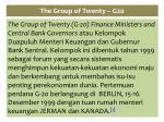 the group of twenty g20