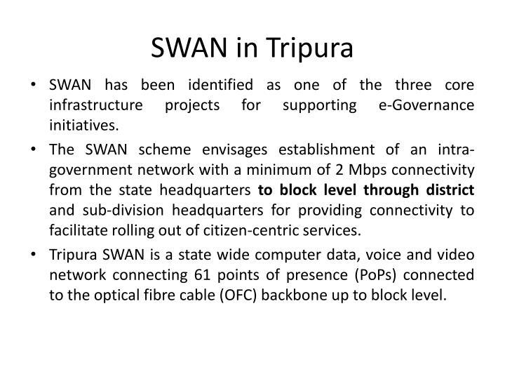 Swan in tripura