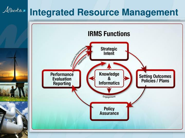 Integrated Resource Management