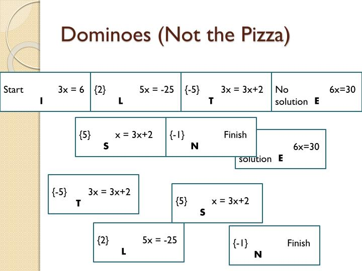 Dominoes (Not the Pizza)