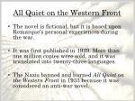 all quiet on the western front1