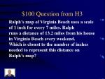 100 question from h3