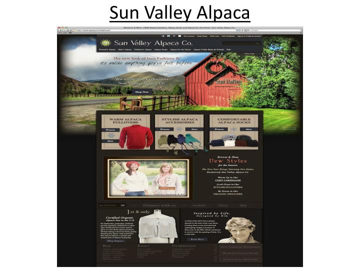 Sun Valley Alpaca