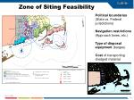 zone of siting feasibility1