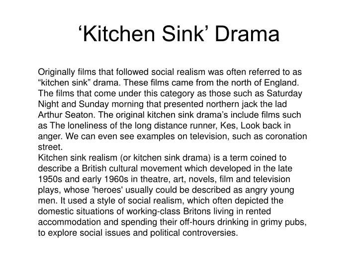 Ppt research into social realism powerpoint presentation id 5409036 - British kitchen sink films ...