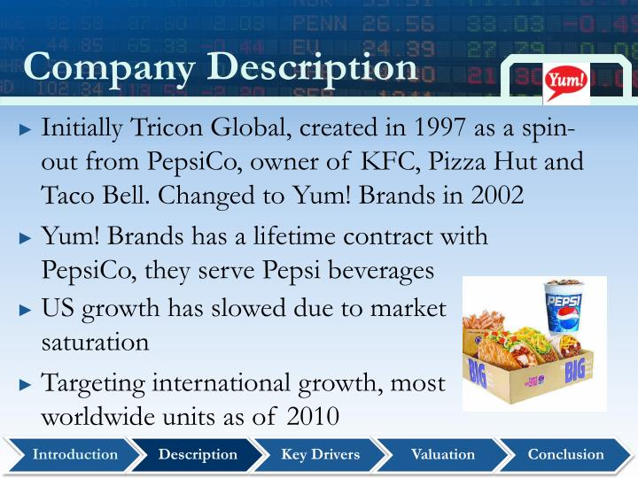 Ppt Yum Brands Inc Nyse Yum Powerpoint Presentation Id5409057