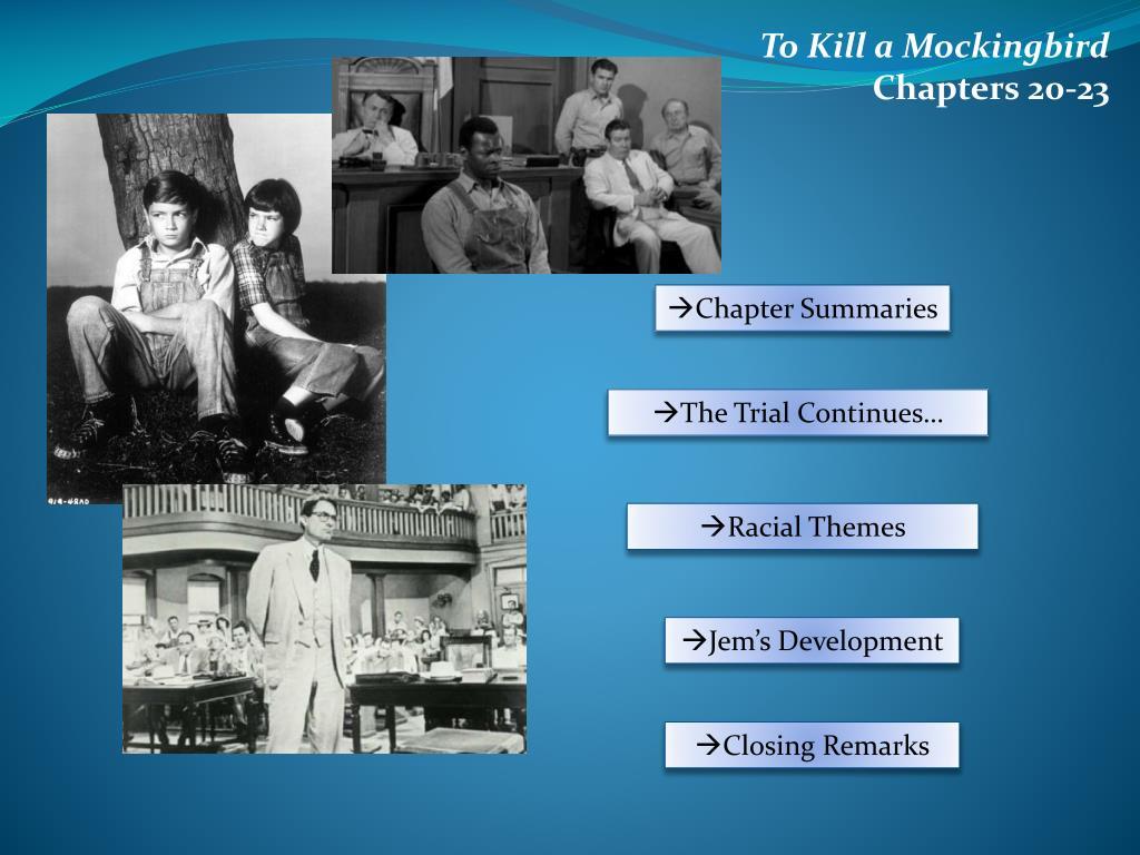 to kill a mockingbird chapter summaries