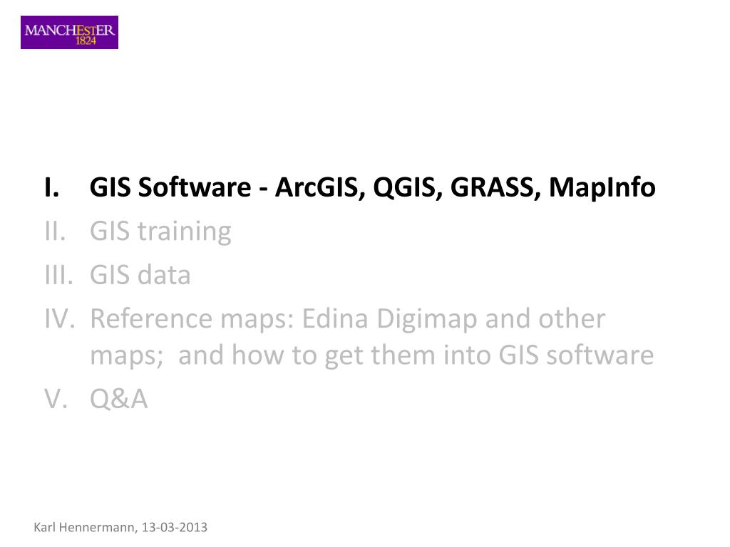 PPT - Geographic Information Systems PowerPoint Presentation - ID