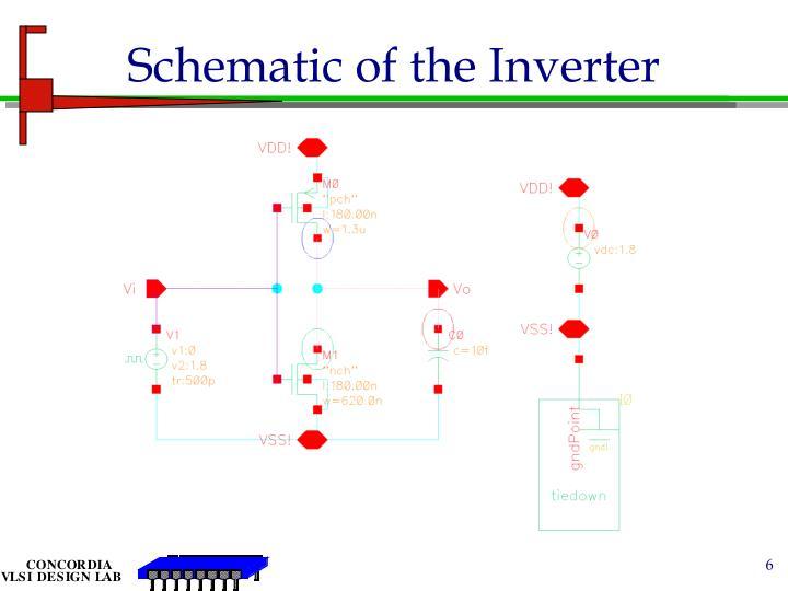 Schematic of the Inverter