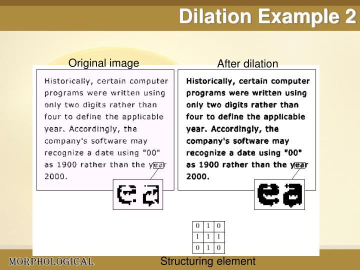 Dilation Example 2
