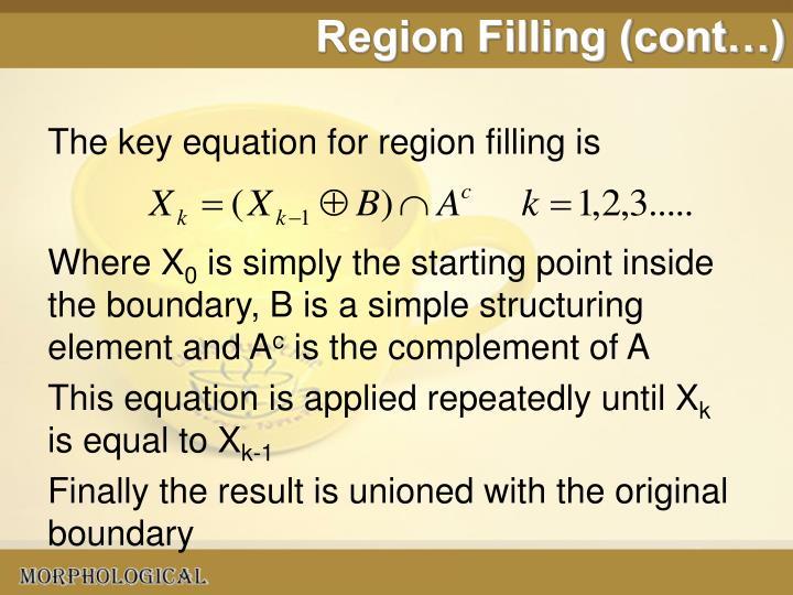 Region Filling (cont…)