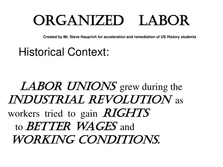 labor union paper Research paper labor unions in the garment factories in bangladesh abdullah al habib (071 398 030) labor union in the rmg sector - 2 abstract the working condition of the workers is not.