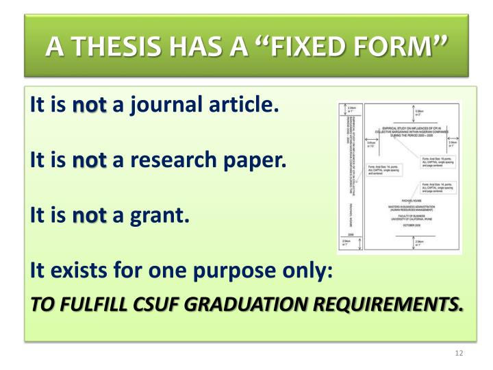 csuf thesis verification form