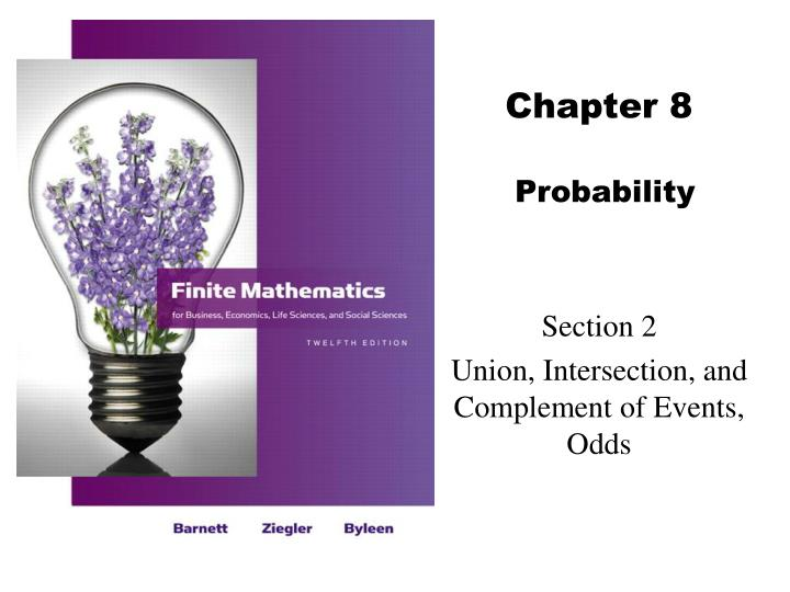 chapter 8 probability n.