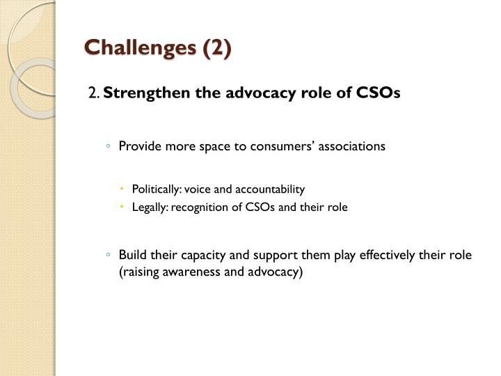 Challenges (2)