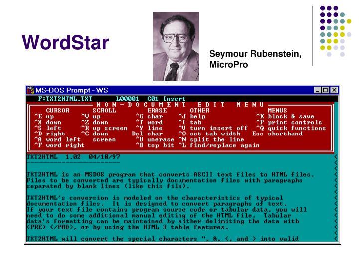 WordStar