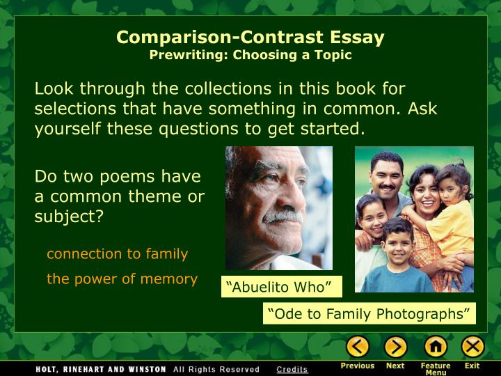 compare and contrast essay of two friends Introduction knowing two friends with different lifestyles really teaches me about the meaning of life we can make our own conclusion from our observation to their lifestyles and the more important is to take the lesson from them.