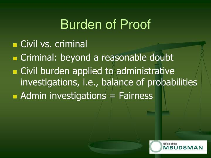 burden of proof 1: something that is a duty, obligation, or responsibility the prosecution has the burden of proving every element of the offense the statute imposes undue burdens burden of pleading the necessary elements.