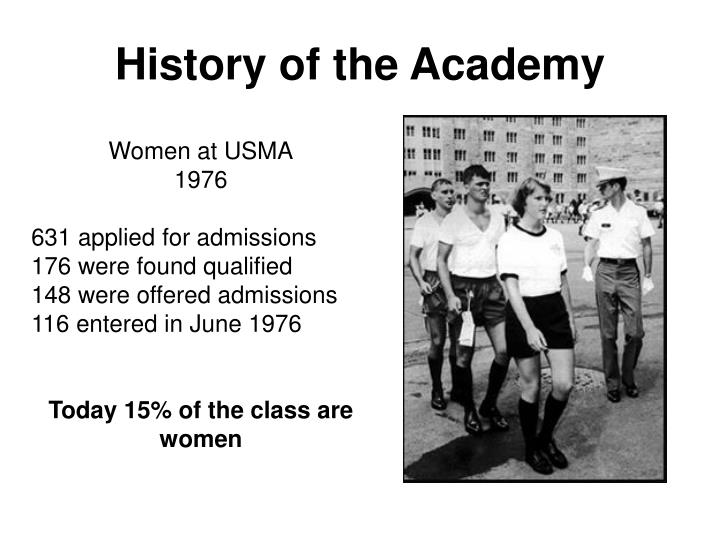 History of the Academy