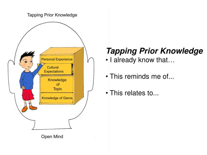 Tapping Prior Knowledge
