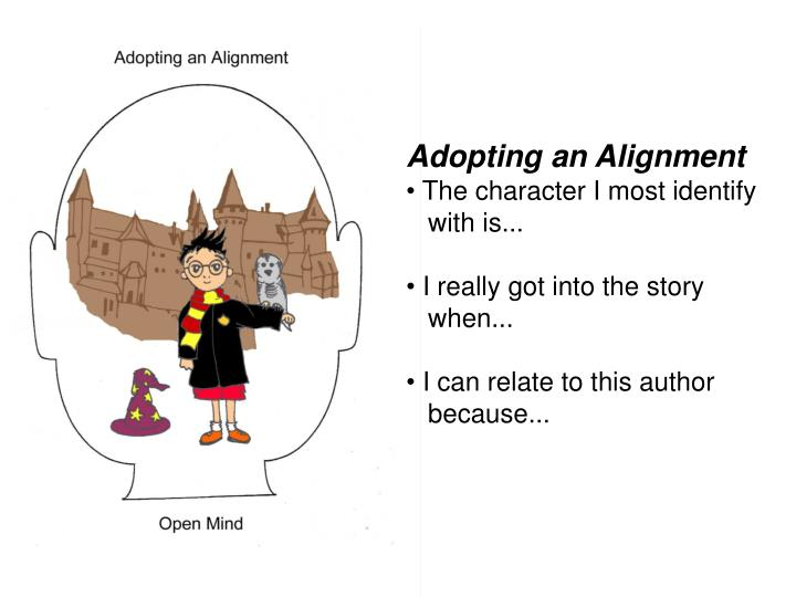 Adopting an Alignment