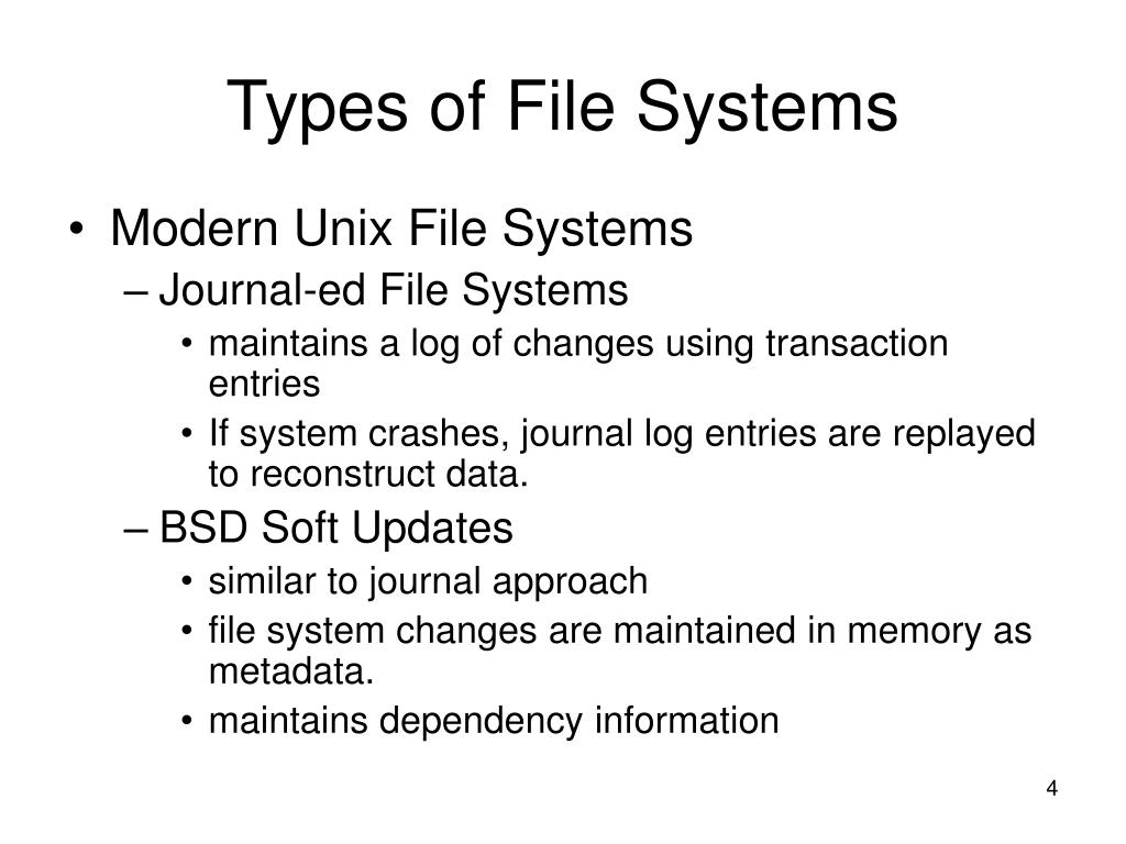PPT - itec 400 Unix File Systems PowerPoint Presentation