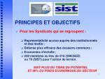 principes et objectifs1