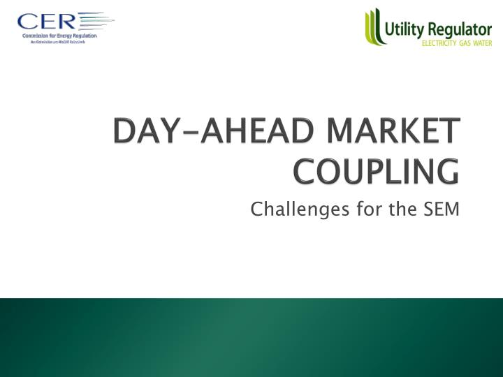 day ahead market coupling