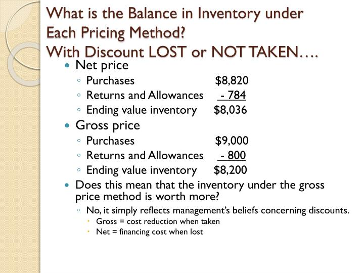 What is the Balance in Inventory under Each Pricing Method?