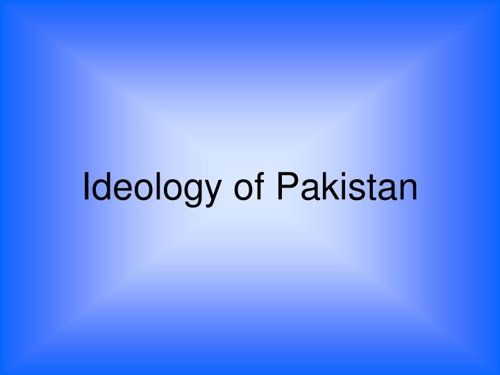 ideology of pakistan n.