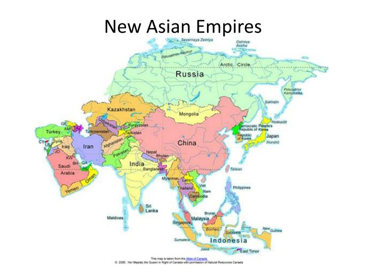 new asian empires n.