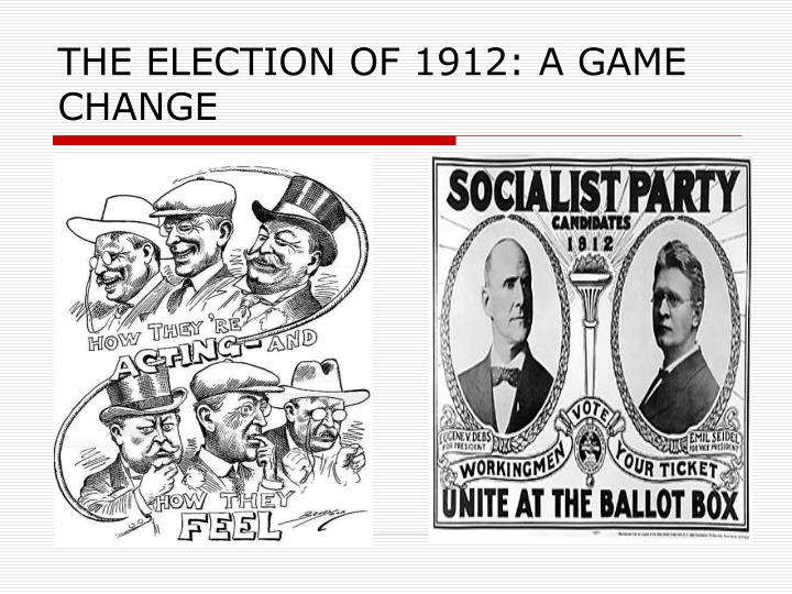 the election of 1912 a game change n.