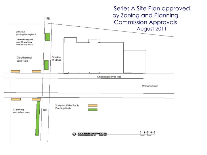 Series A Site Plan approved