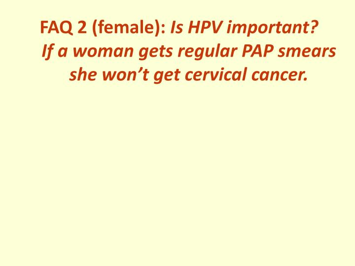 FAQ 2 (female):