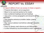 report vs essay1