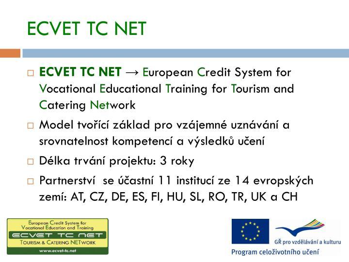 ECVET TC NET