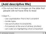add descriptive title4