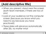 add descriptive title5