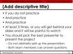 add descriptive title6