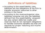 definitions of liabilities