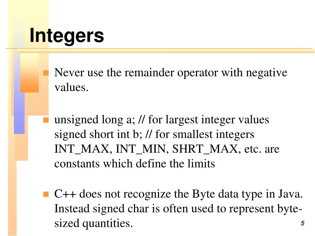 PPT - C++ for Java Programmers PowerPoint Presentation - ID