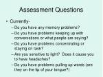 assessment questions2