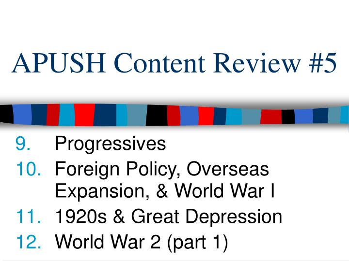 Ppt Apush Content Review 5 Powerpoint Presentation Free