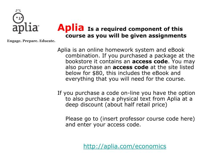 aplia assignment answers This student resource video covers completing assignments and accessing your grades in aplia for more information visit: wwwcengagecom/dcs.