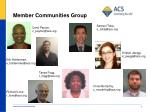member communities group2